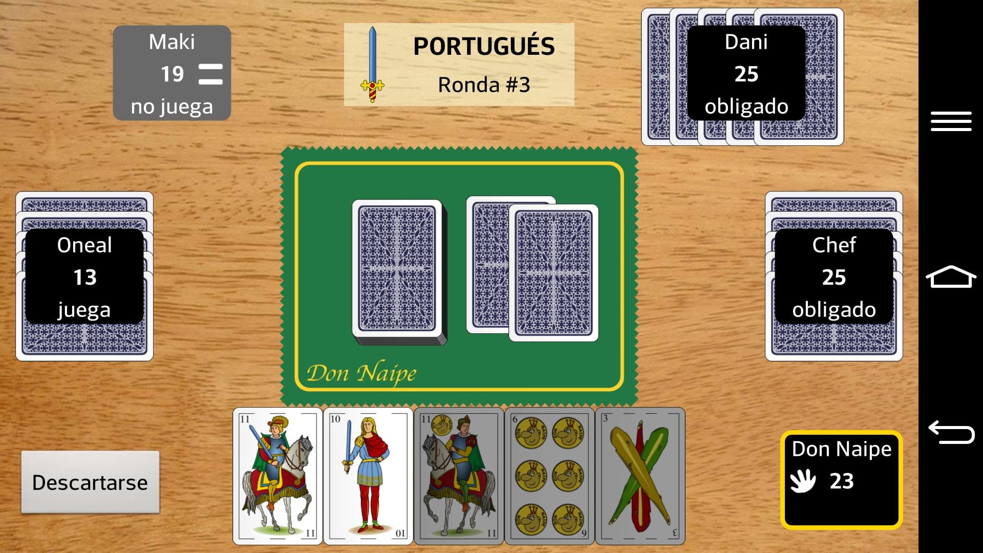 Portugués Don Naipe