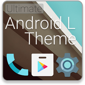 Android L Launcher Theme 1.1