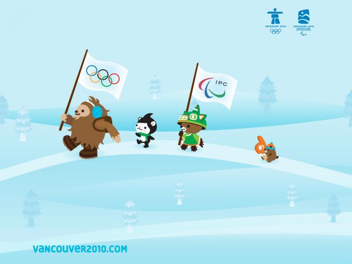 Maskotki Olimpijskie Vancouver 2010 Wallpaper
