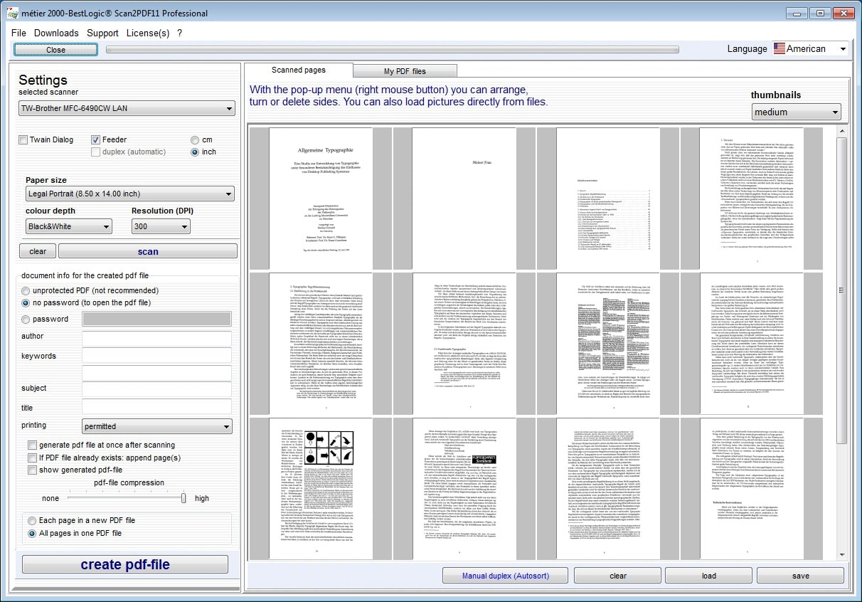 BestLogic Scan2PDF Professional