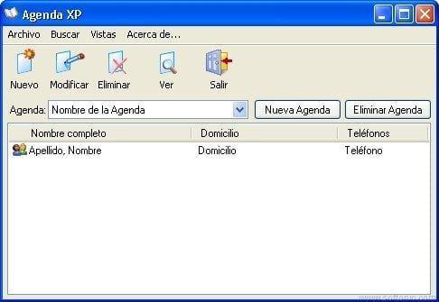 Agenda XP