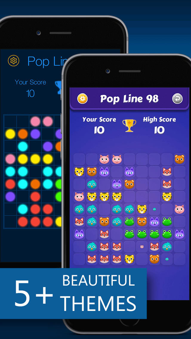 LINES98 POP PUZZLE