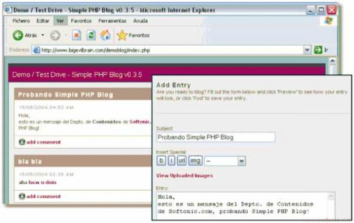 Simple PHP Blog