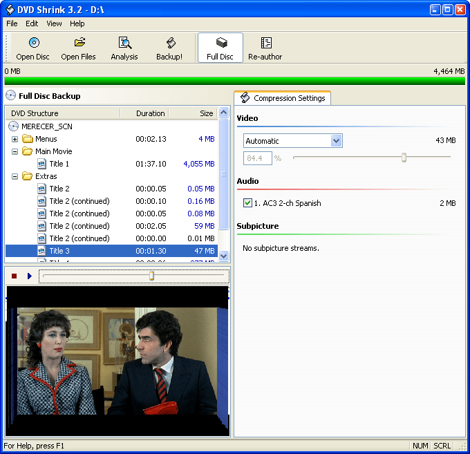 DVD Shrink for OS X