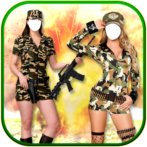 Women Army Photo Suit New