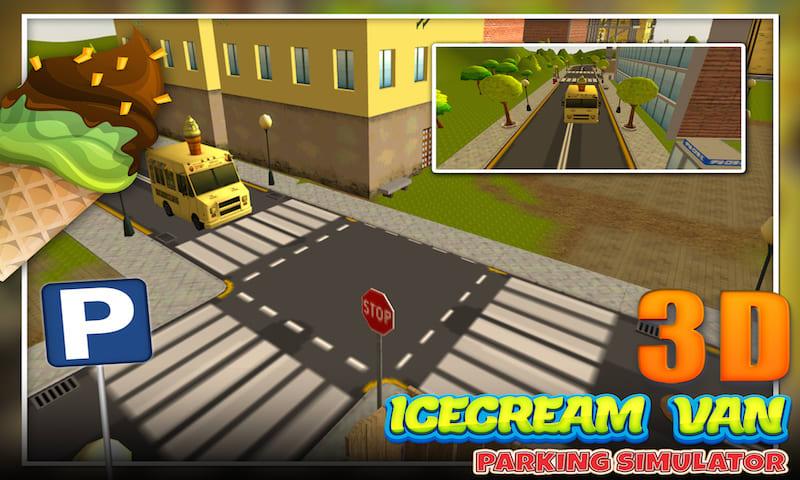 Icecream Van Parking Simulator