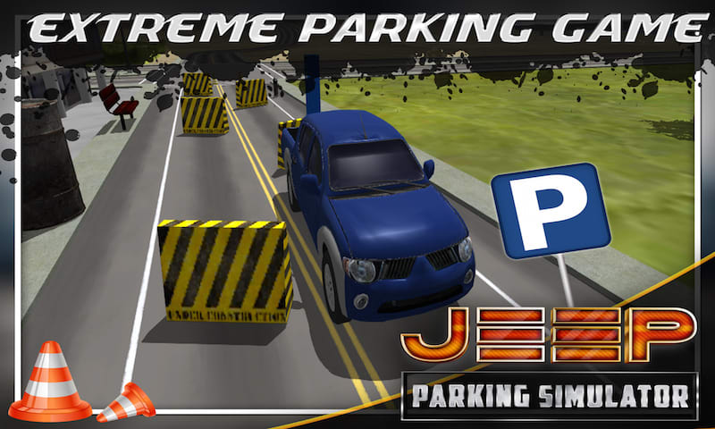 Jeep Parking Simulator 3D