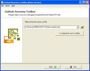 Outlook Recovery Toolbox