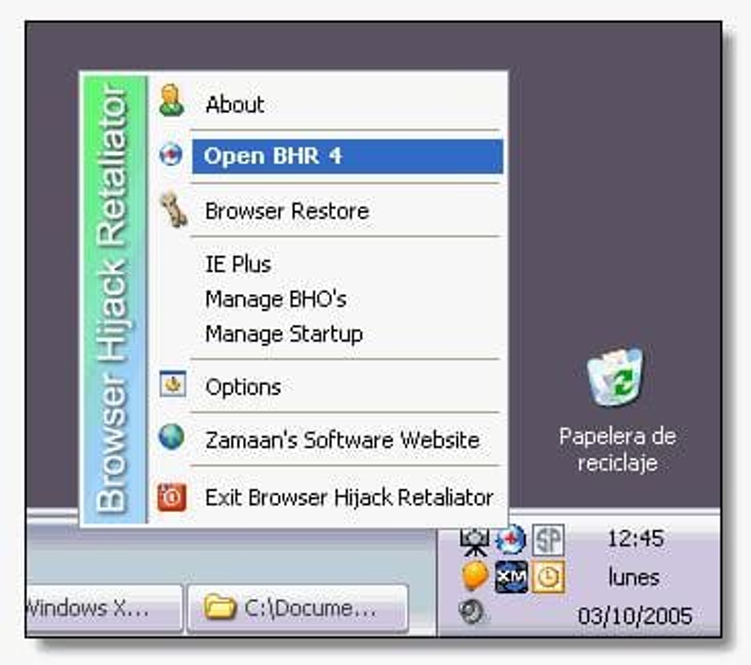 Browser Hijack Retaliator