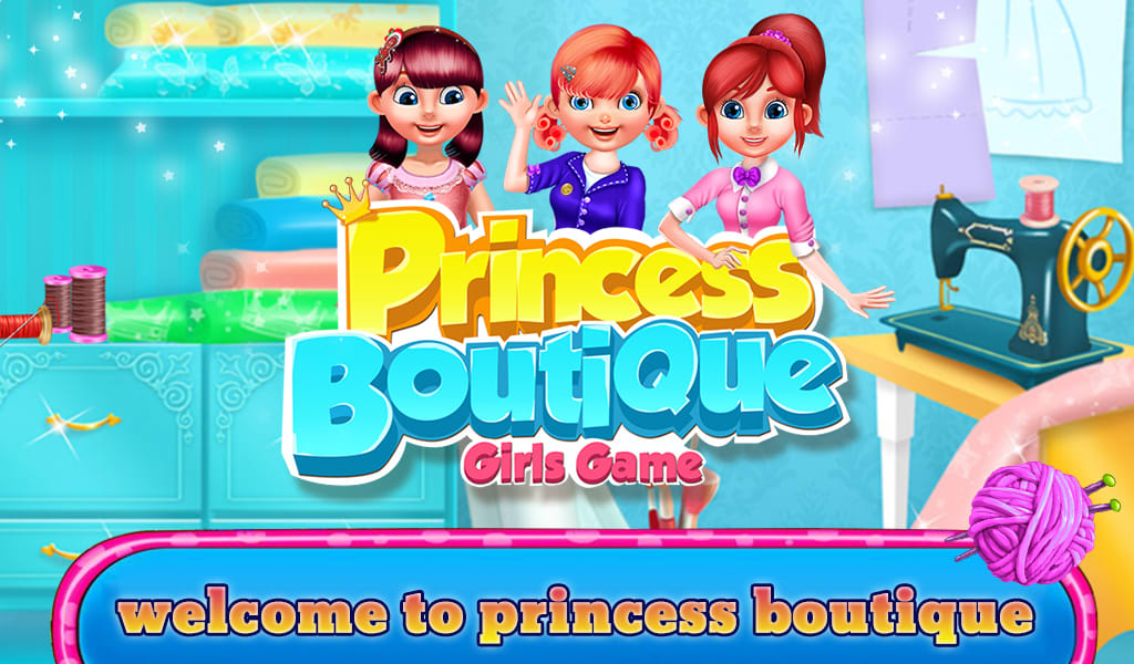Princess Boutique Girls Game