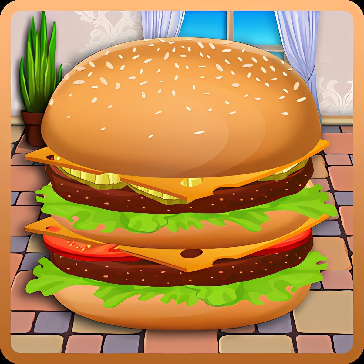 Cooking - Burger Restaurant