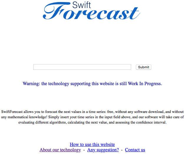 SwiftForecast