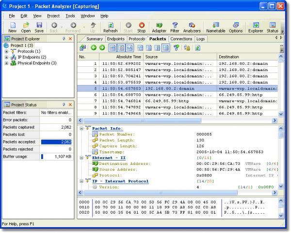 network analyzer software free download