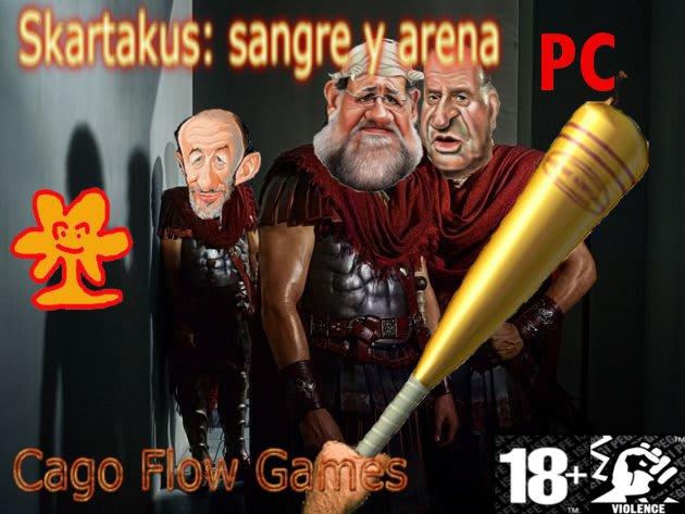 Skartakus: sangre y arena