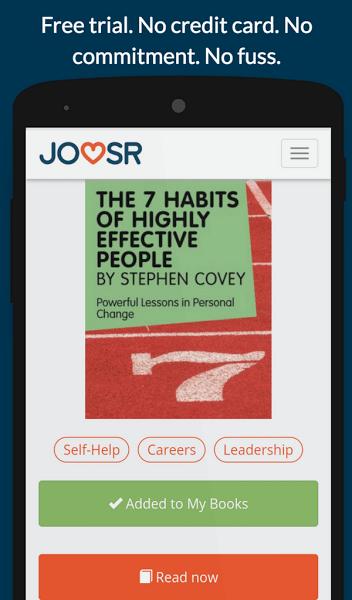 Joosr Book Summaries: the new way to learn