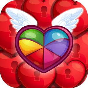 Sweet Hearts Valentines Day Match 3 Puzzle Varies with device