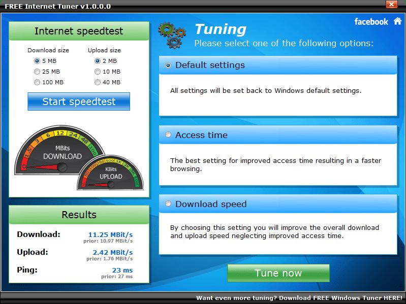 FREE Internet Tuner