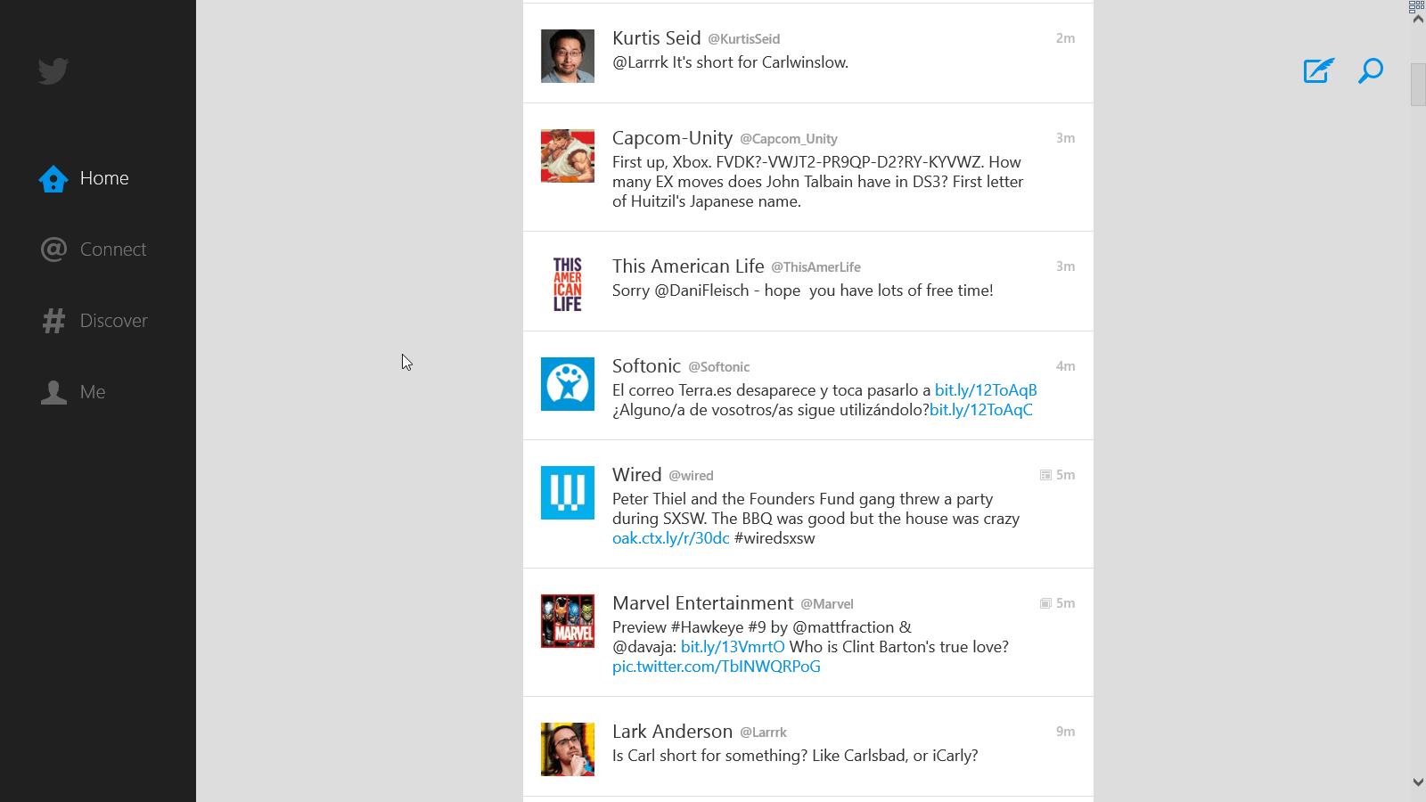 Twitter per Windows 10
