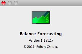 Balance Forecasting