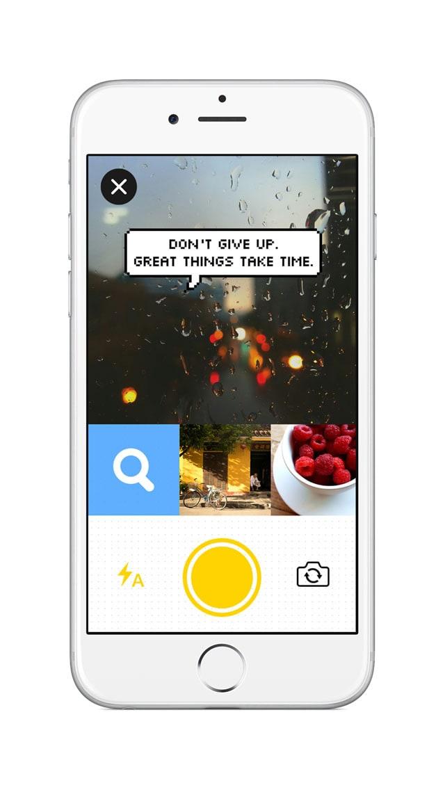 Bubble - Añadir texto + burbujas de mensajes con emoji para fotos