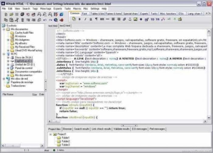 40Tude HTML