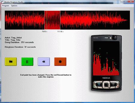 Mobile Ringtone Studio