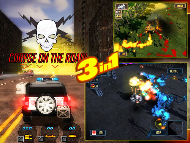 Battle Cars Games Pack