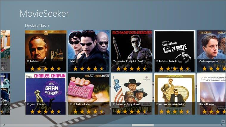 MovieSeeker for Windows 10