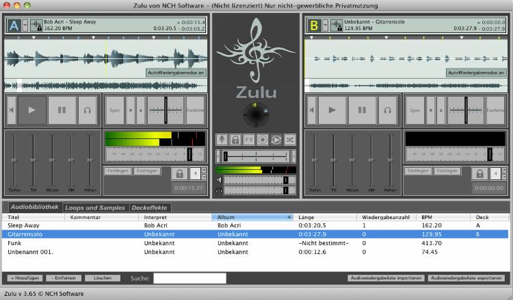 Zulu Mac DJ Software Master Edition