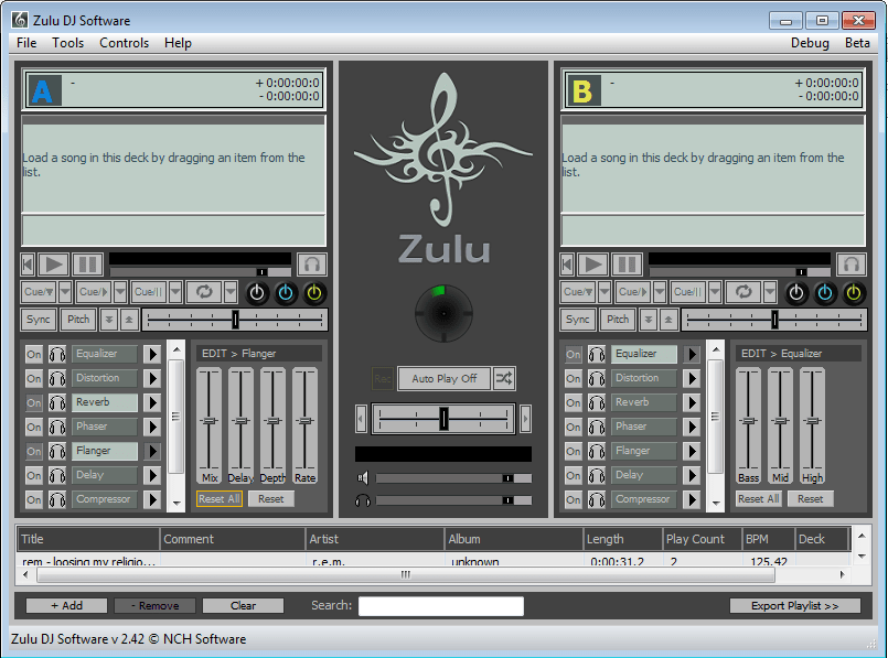 Zulu Mac DJ Software Master Edition