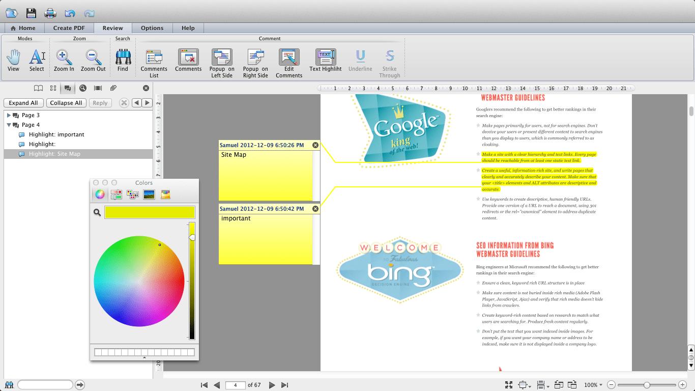 Soda PDF Mac
