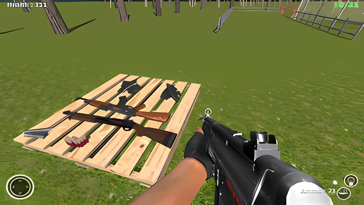 Commando Behind Enemy Defense Free