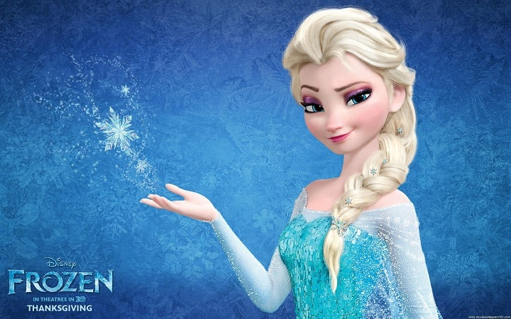 Frozen Screensaver