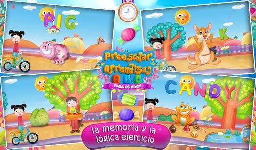 aprendizaje preescolar ABC