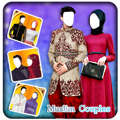 Couple Muslim Photo Suit