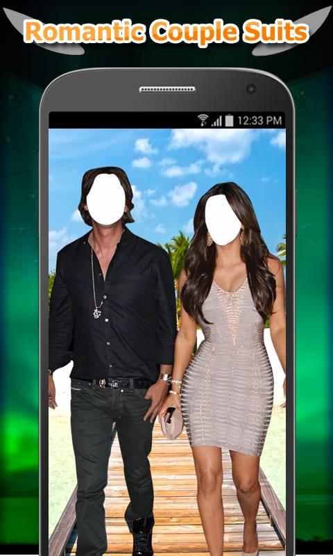 Couple Romantic Photo Suit