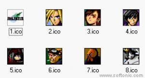 Final Fantasy VII icons