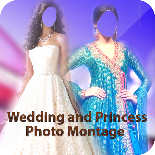 Wedding Princess Photo Montage