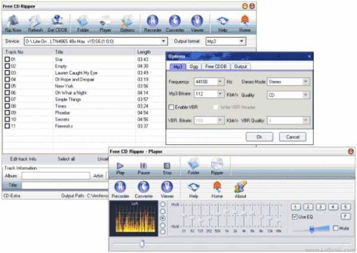 Focus Free CD Ripper