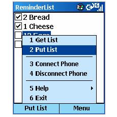 ReminderList