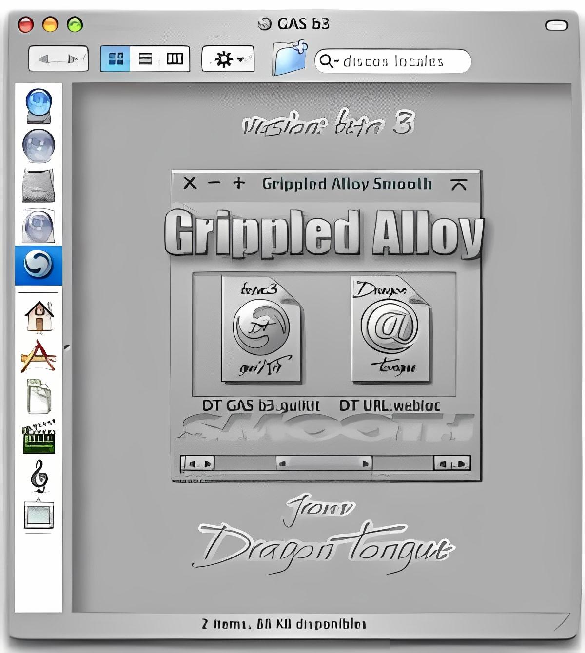 DT Grippled Alloy Smooth
