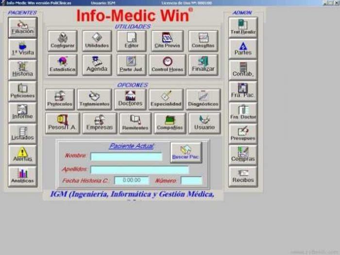 Info-Medic Win PoliClínicas