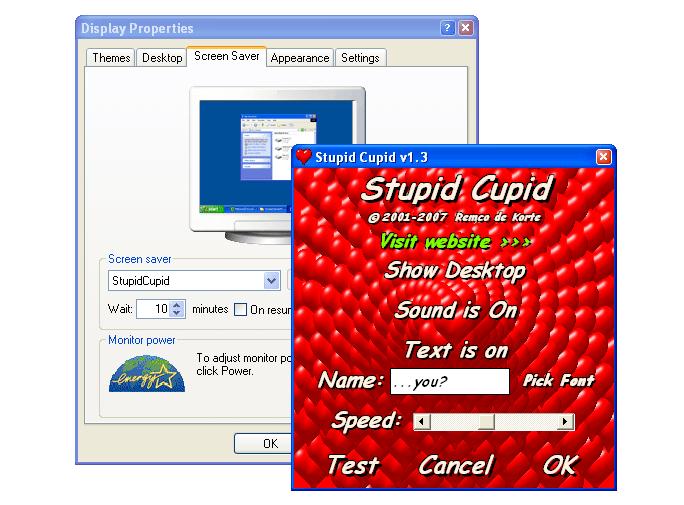 Stupid cupid game