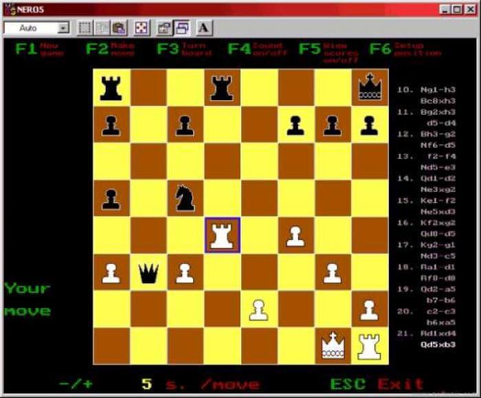 Nero 5 (Jari Huikari's chess)