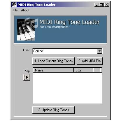 MIDI Ring Tone Loader