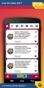 Teclado del FC Barcelona