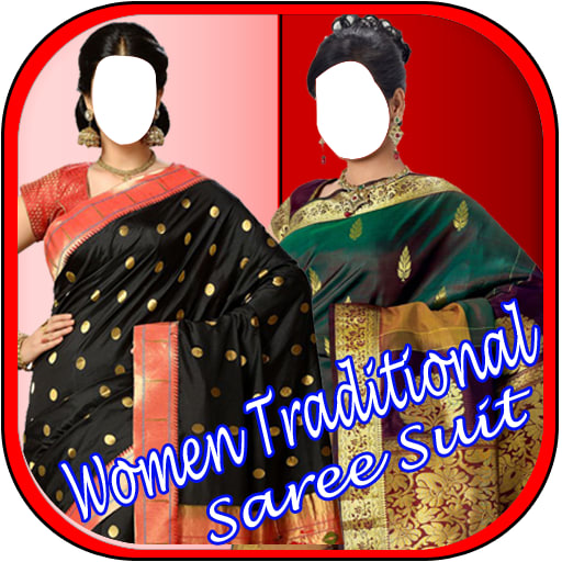 Women Traditional Saree Suit New 1.0