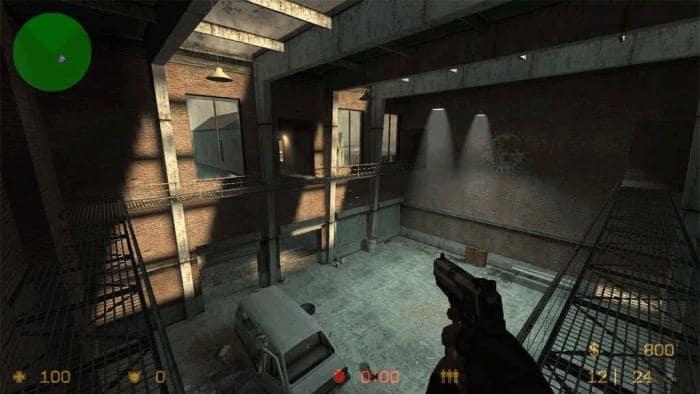 COUNTER-STRIKE MOD - Clássico jogo de tiro em primeira pessoa