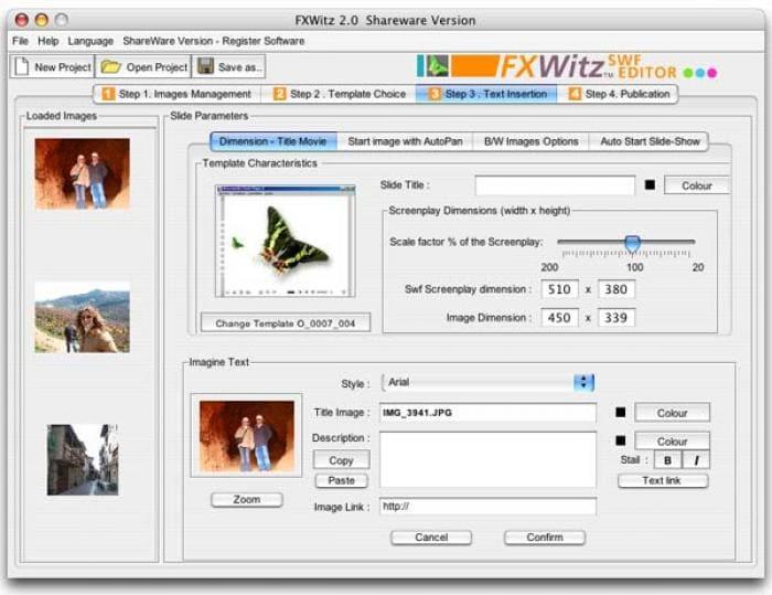 FXWitz SWF Editor