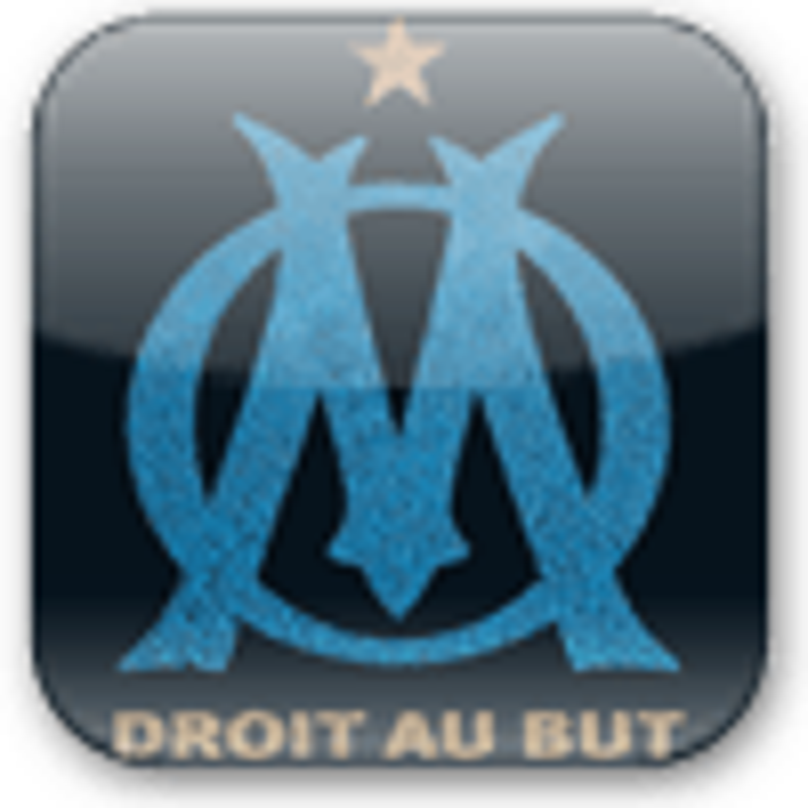 Fond d'écran Blason Olympique de Marseille